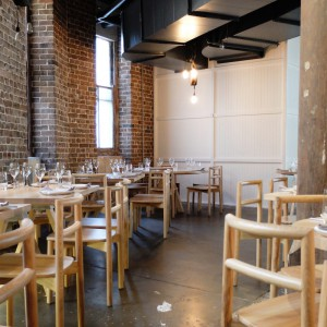 Nomad Restaurant tables