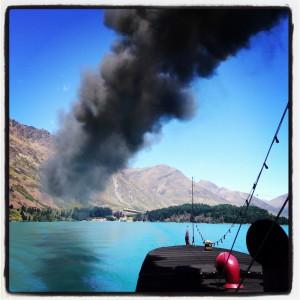 Queenstown NZ paddle steamer