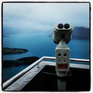 Queenstown NZ viewing platform