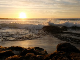 Maroubra Beach at dawn L