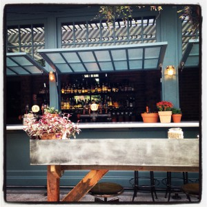 Potting Shed bar