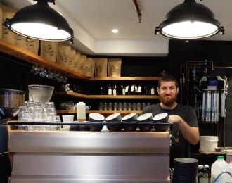 John Smith barista Josh