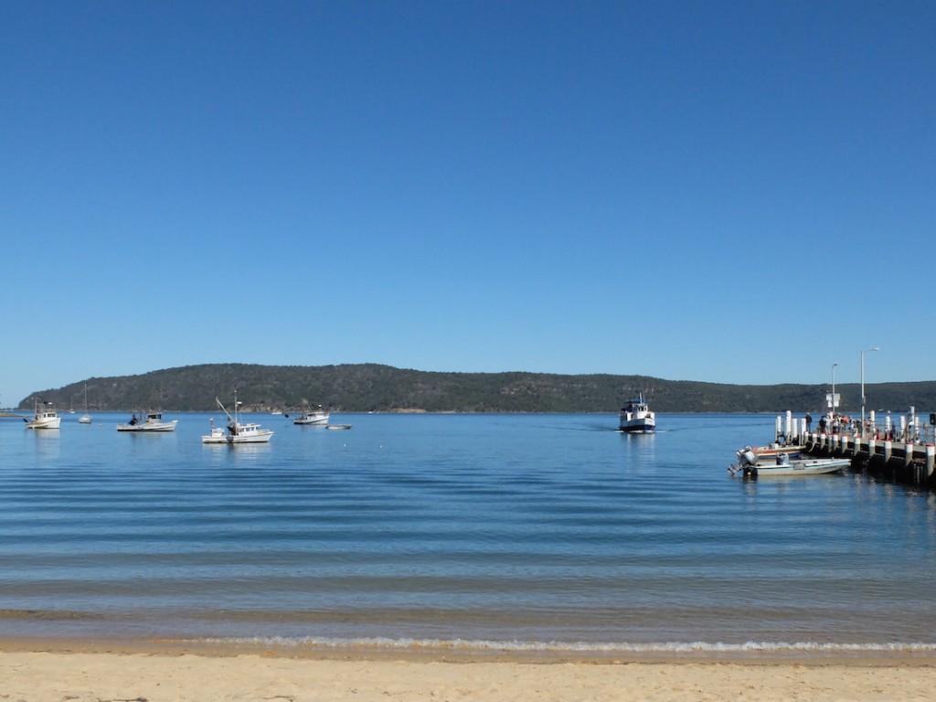Patonga jetty
