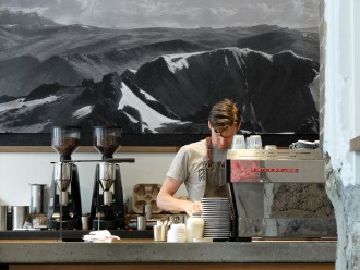 Paramount Coffee Project barista wide