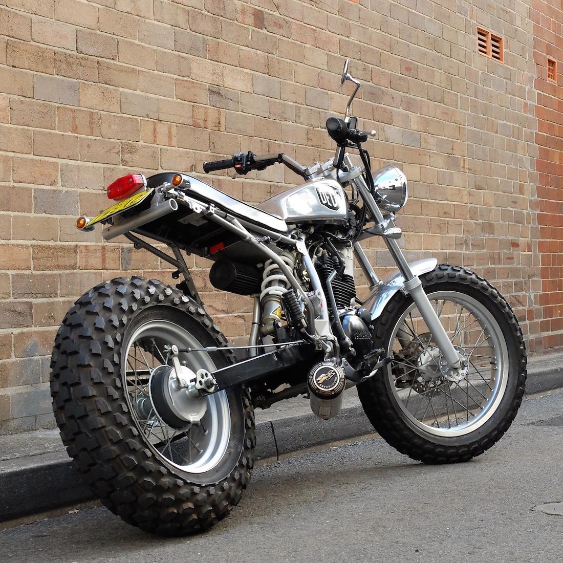 deus tw200 motorcycle ex machina yamaha tw