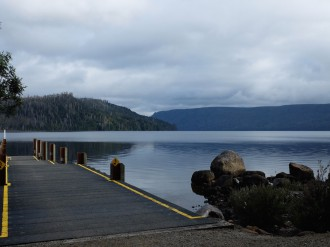 Lake St Claire jetty