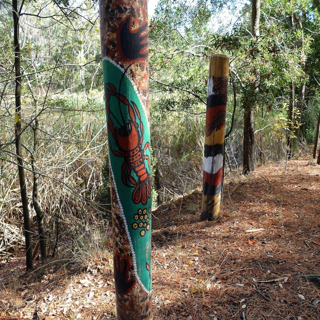 Creswick Forest aboriginal poles