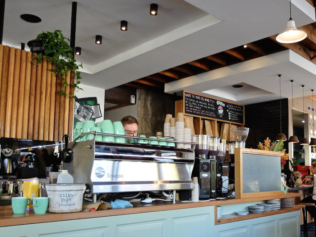 Canberra Cupping Room machine