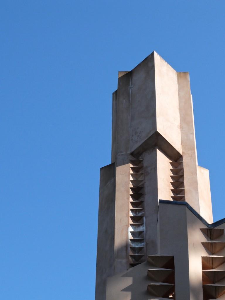 Incinerator tower