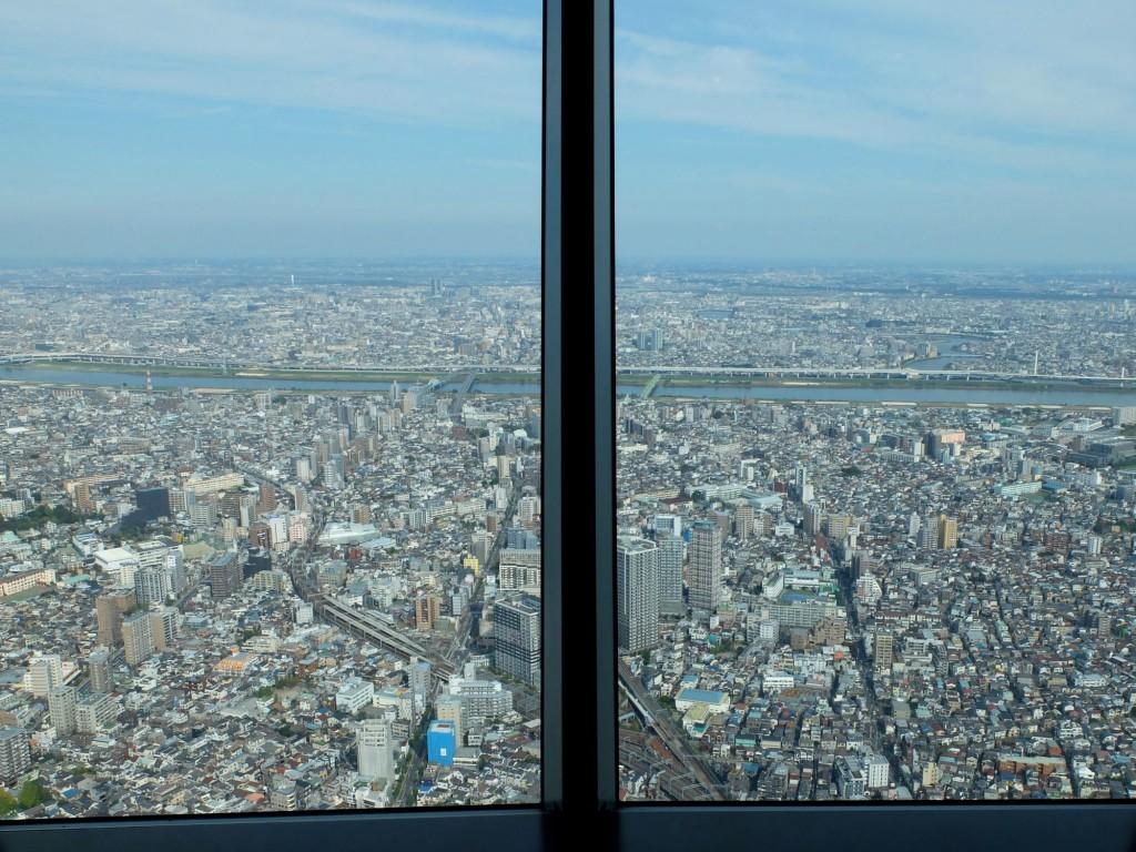 Tokyo Skytree window