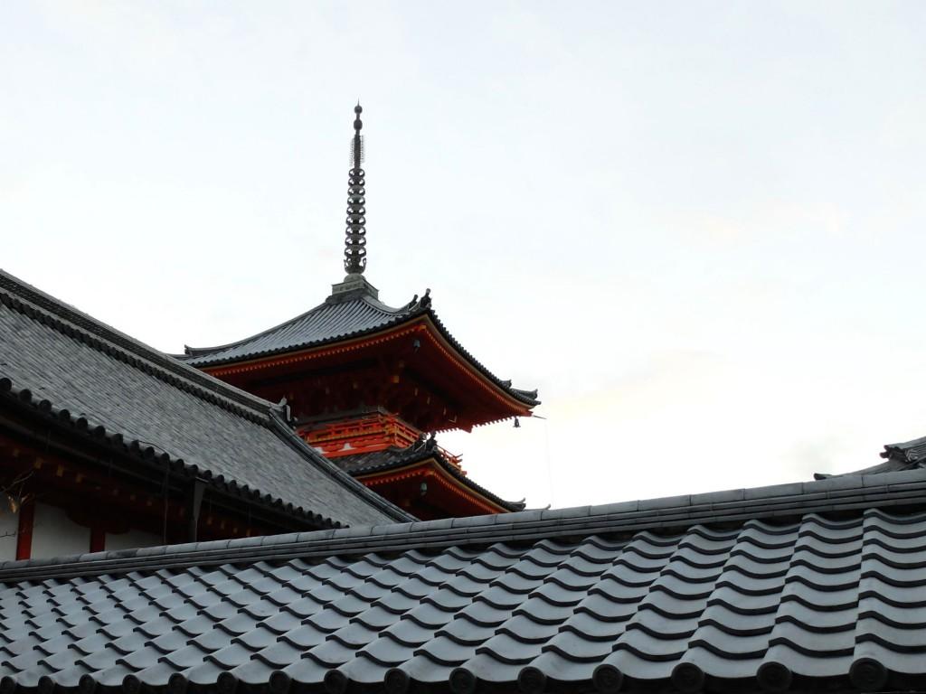 Kyoto Pagoda roof