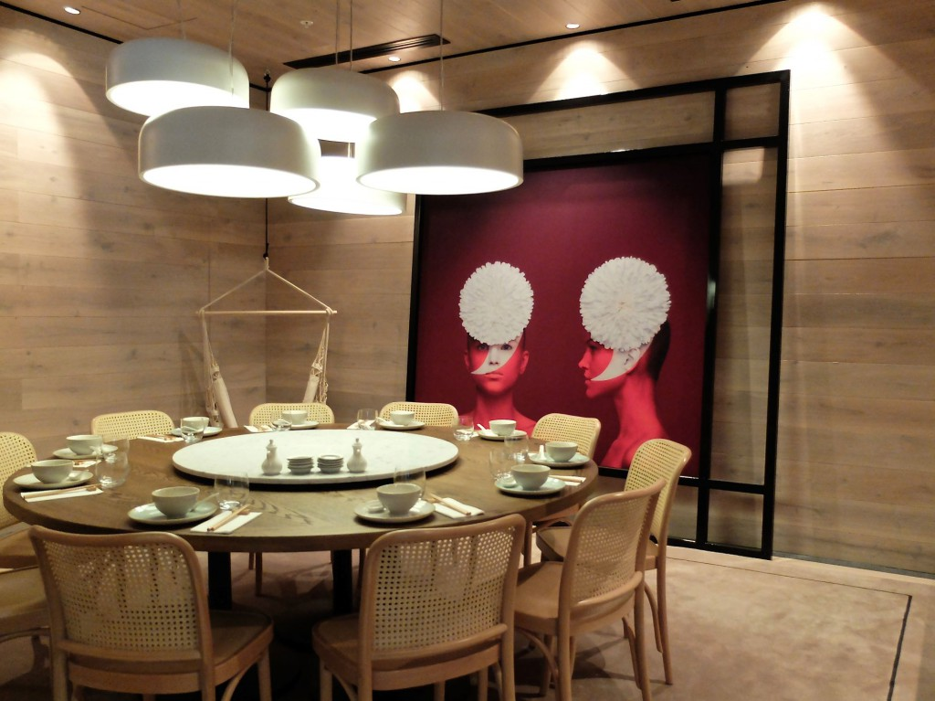 Lotus Dining private dining room