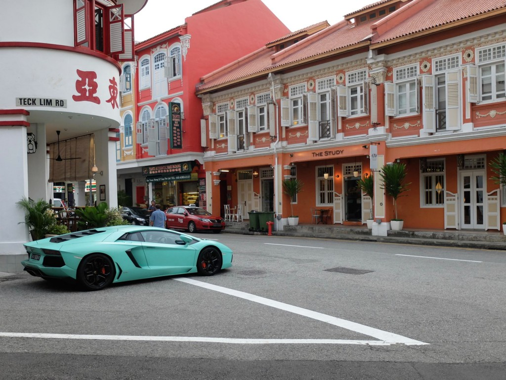Singapore Chinatown Lamborghini