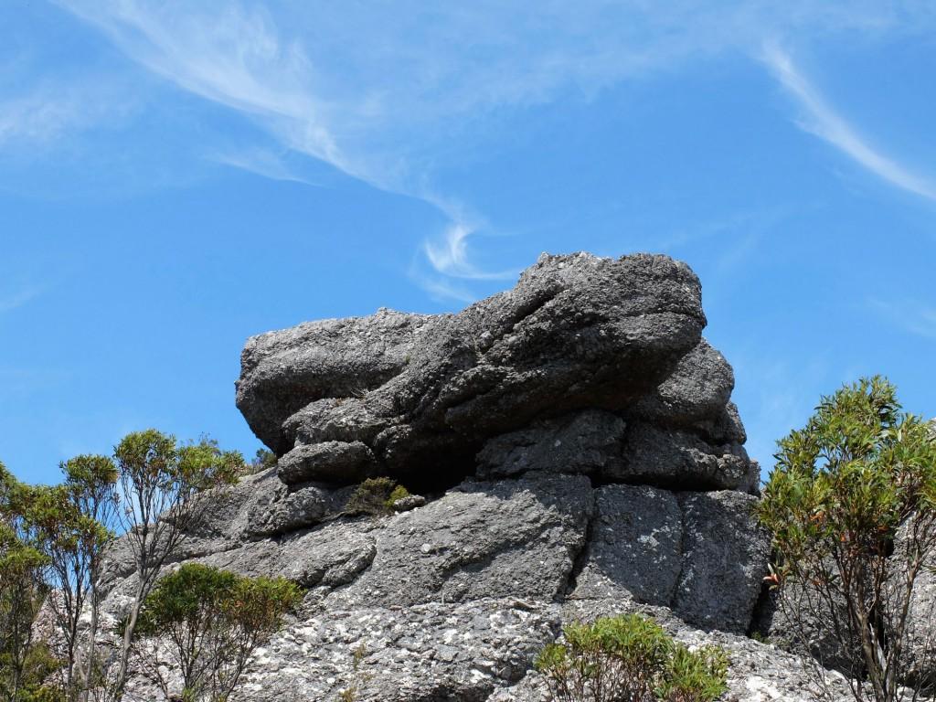 Tasmania Mt Claude rock formation 2