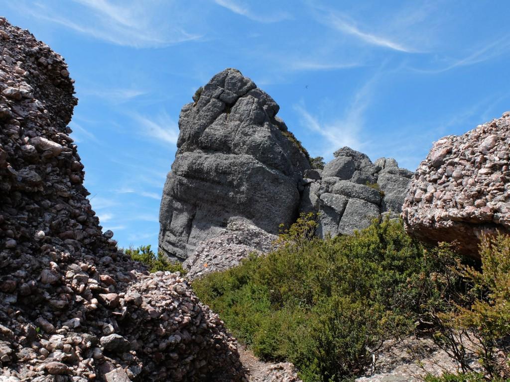 Tasmania Mt Claude rock formation 3