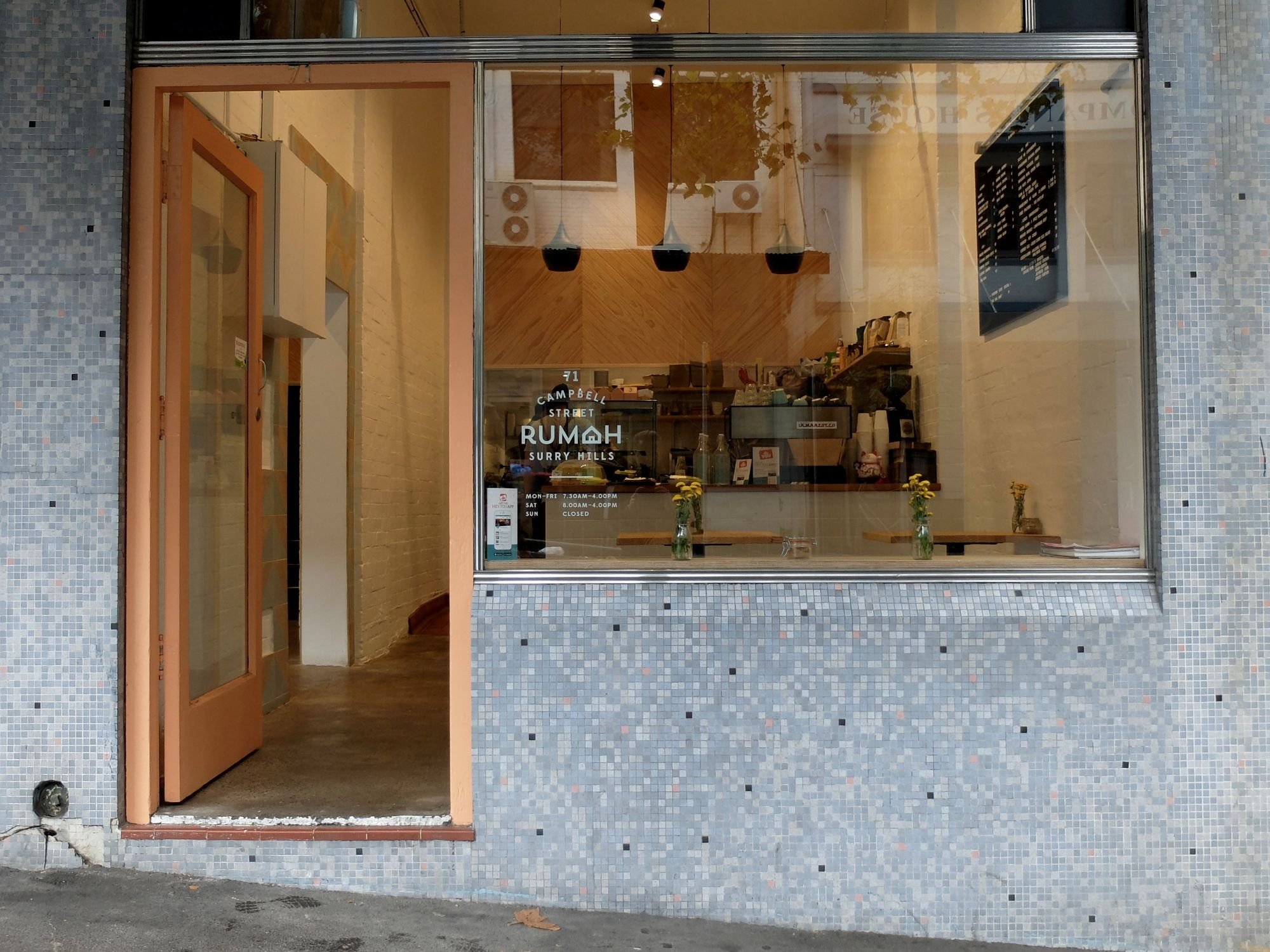 Cafe Rumah And 15 Sheets Surry Hills