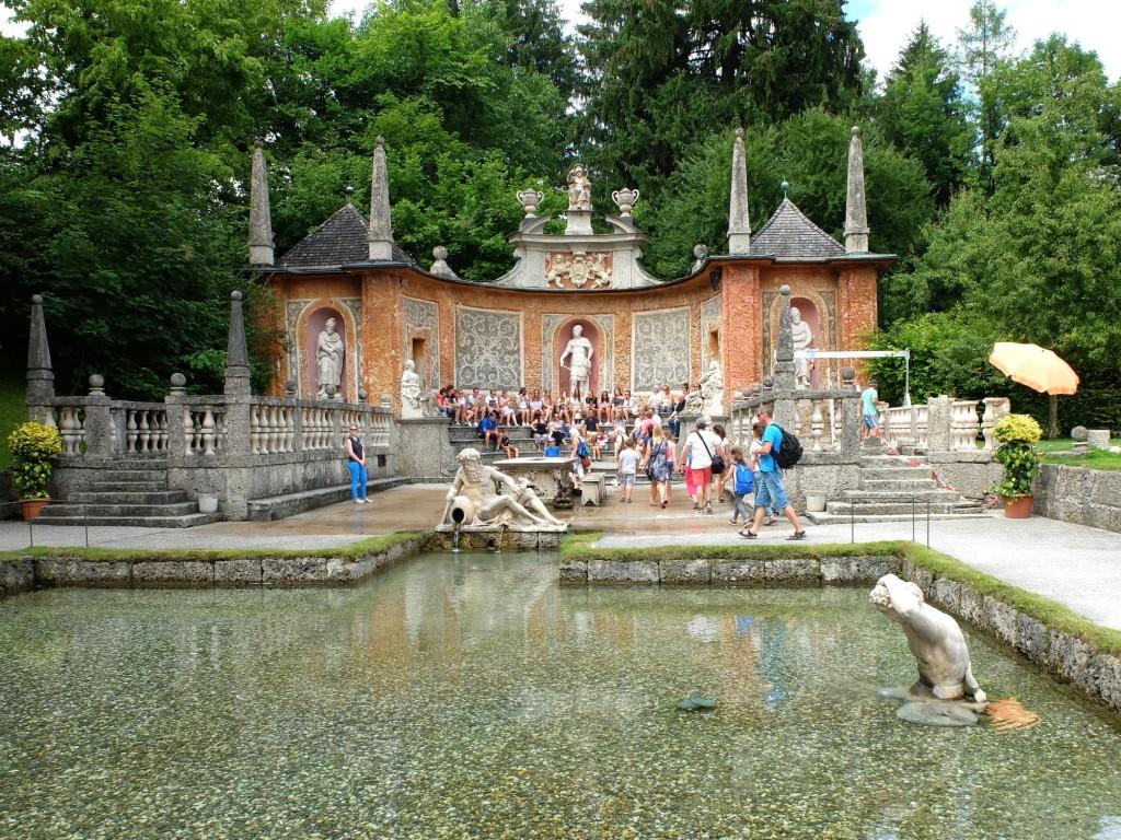 Salzburg Hellbrunn Trick Fountain