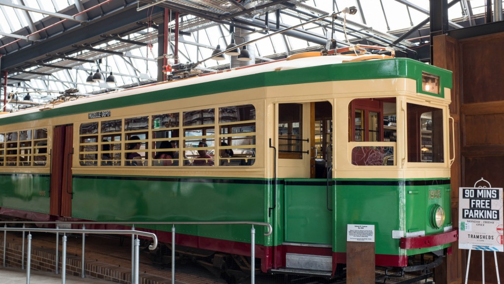 Tramsheds tram 2
