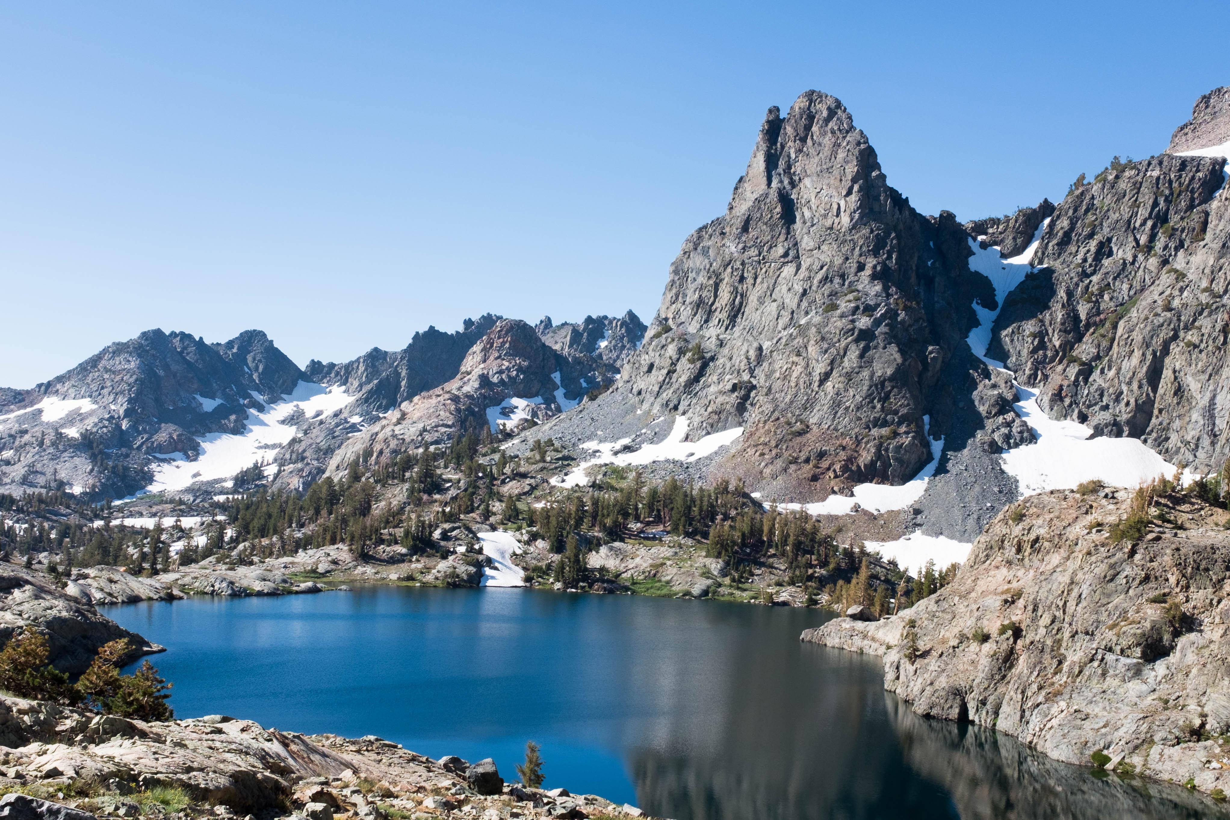John Muir Trail Devils Postpile To Ediza Lake